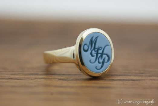 Ring graveren lagensteen mhp