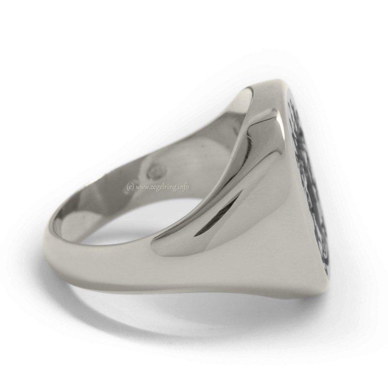 zegelring zilver