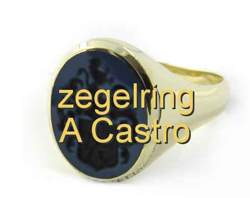 zegelring A Castro