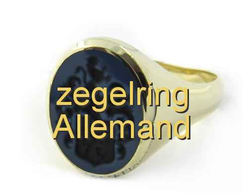 zegelring Allemand