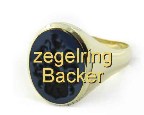 zegelring Backer