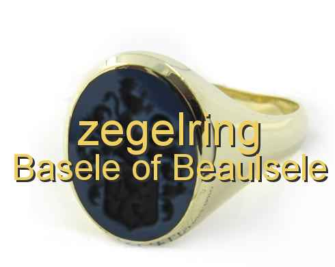 zegelring Basele of Beaulsele