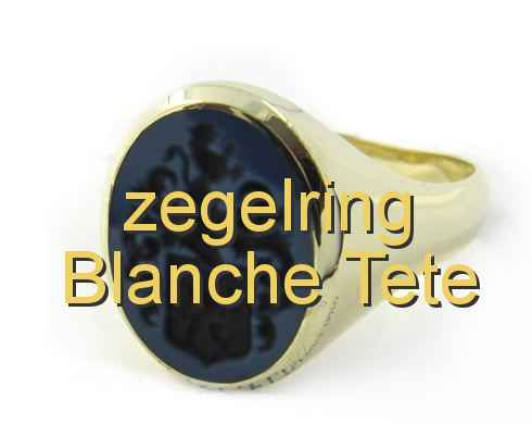 zegelring Blanche Tete