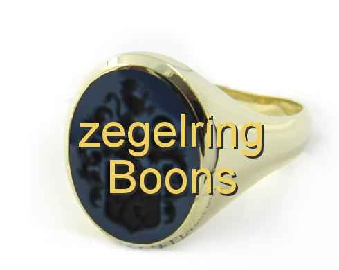 zegelring Boons
