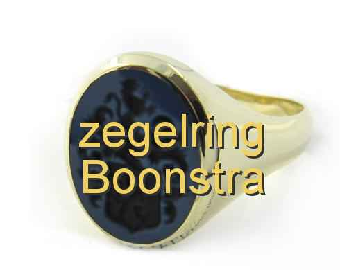 zegelring Boonstra