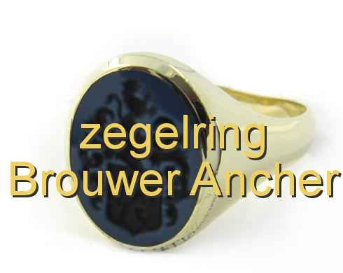 zegelring Brouwer Ancher
