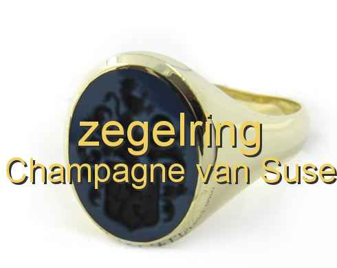 zegelring Champagne van Suse
