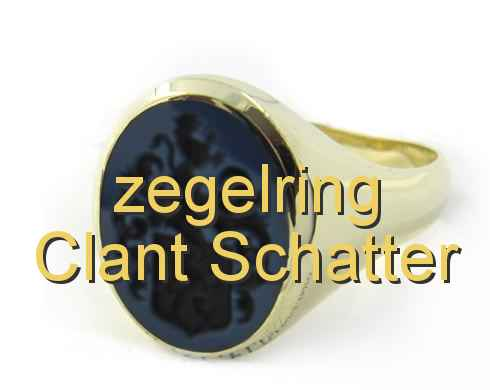 zegelring Clant Schatter