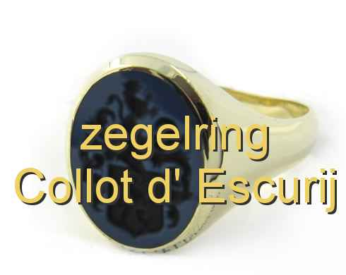zegelring Collot d' Escurij
