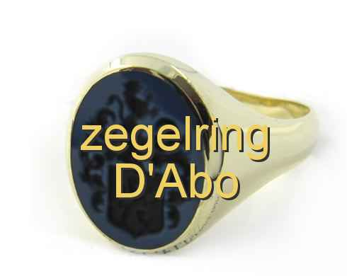 zegelring D'Abo