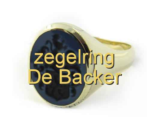 zegelring De Backer