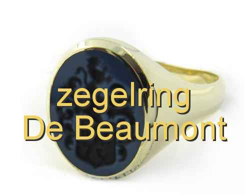 zegelring De Beaumont