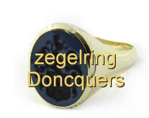 zegelring Doncquers