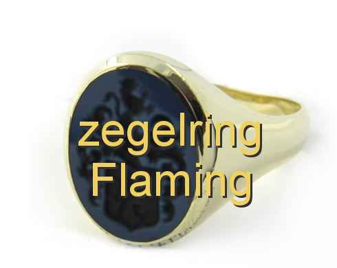 zegelring Flaming
