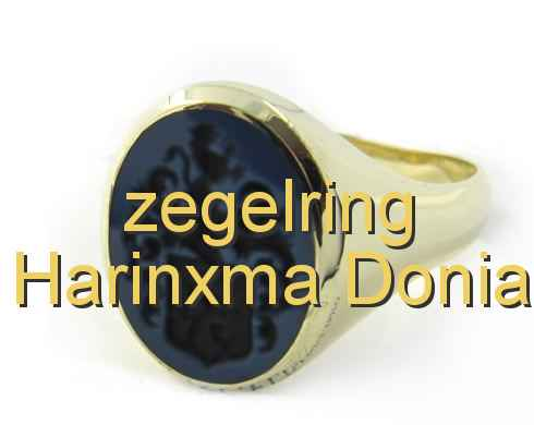 zegelring Harinxma Donia