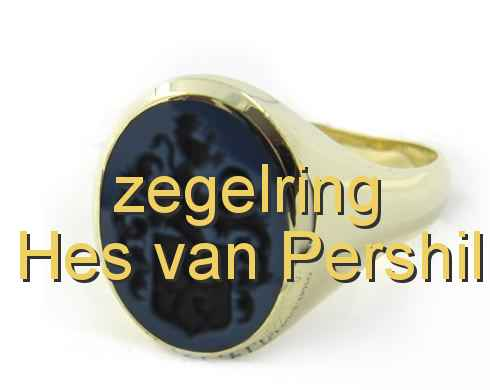 zegelring Hes van Pershil