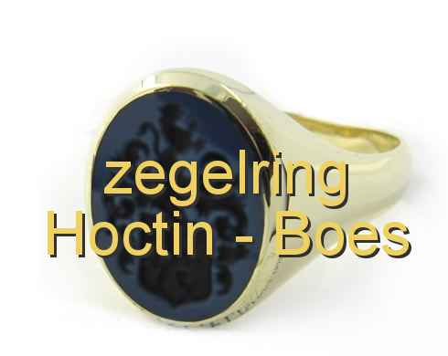zegelring Hoctin - Boes