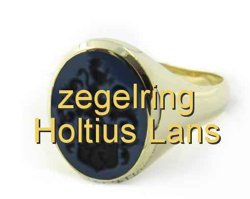zegelring Holtius Lans