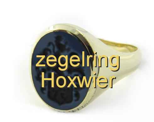zegelring Hoxwier