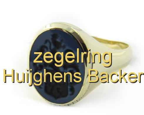 zegelring Huijghens Backer