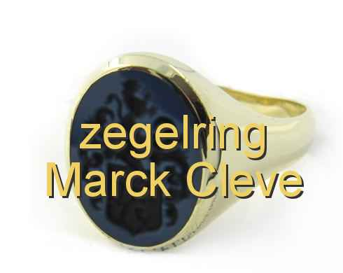 zegelring Marck Cleve
