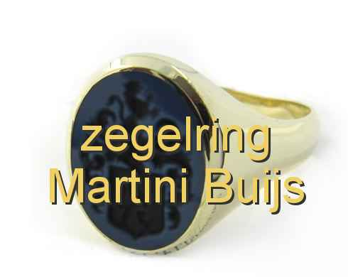 zegelring Martini Buijs