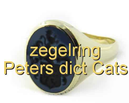 zegelring Peters dict Cats