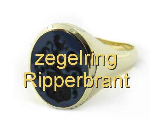 zegelring Ripperbrant