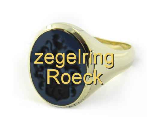 zegelring Roeck