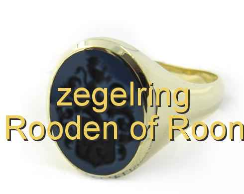 zegelring Rooden of Roon