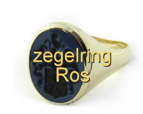 zegelring Ros
