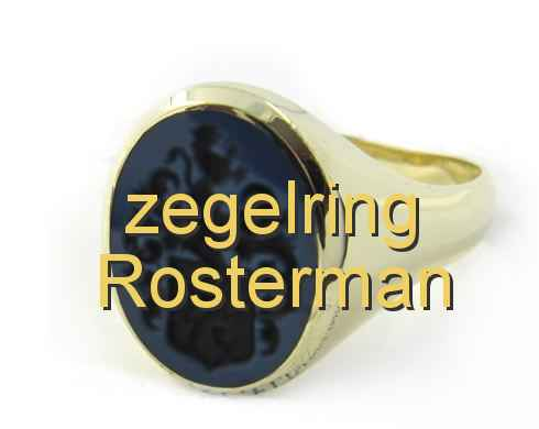 zegelring Rosterman