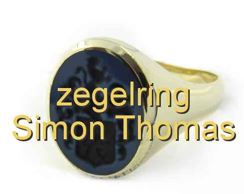 zegelring Simon Thomas