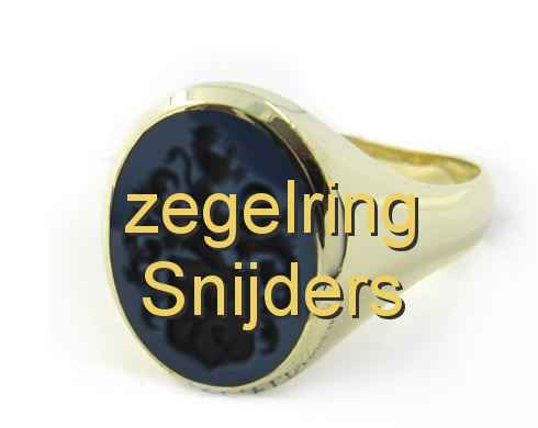 zegelring Snijders