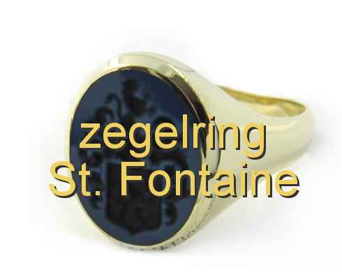 zegelring St. Fontaine