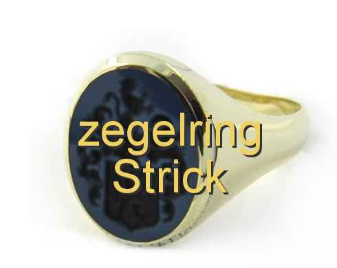 zegelring Strick