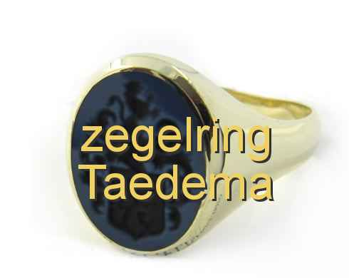 zegelring Taedema