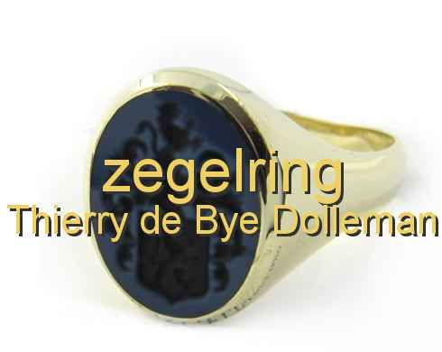 zegelring Thierry de Bye Dolleman