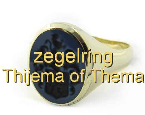 zegelring Thijema of Thema