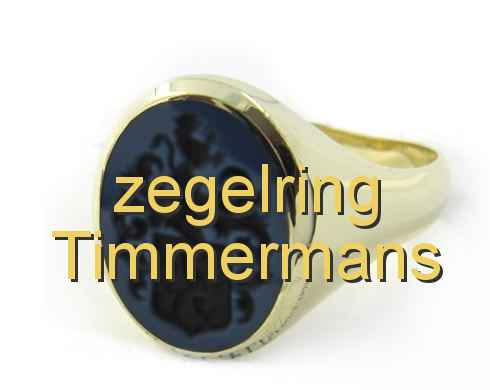 zegelring Timmermans