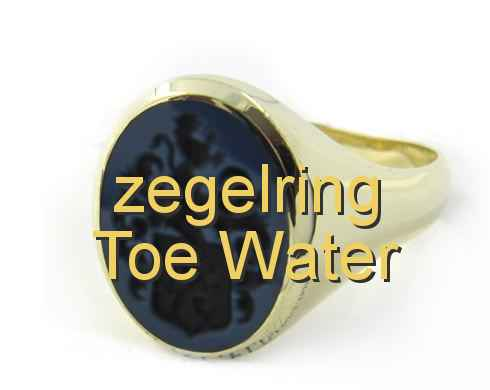 zegelring Toe Water