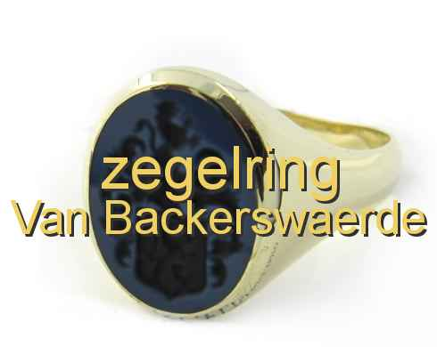 zegelring Van Backerswaerde