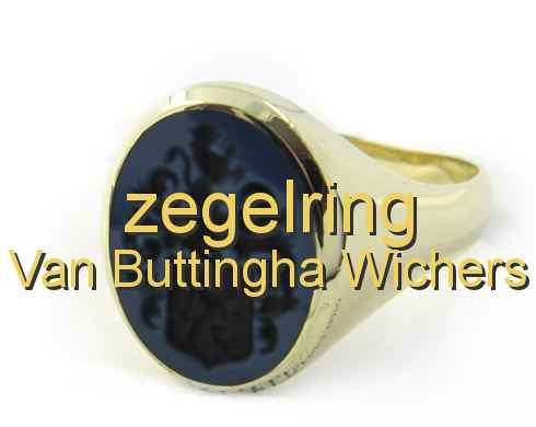 zegelring Van Buttingha Wichers