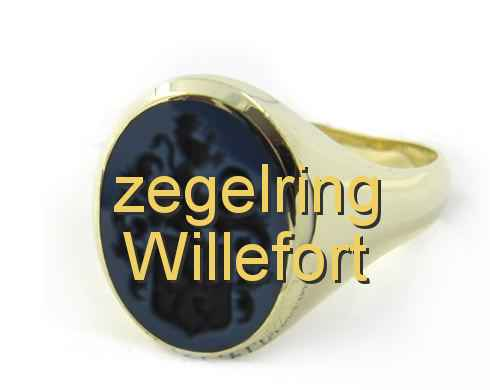 zegelring Willefort