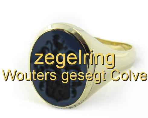 zegelring Wouters gesegt Colve
